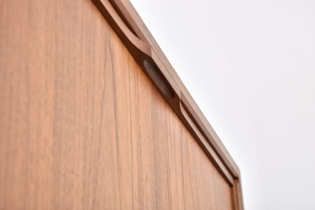 Detail drop front cabinet with handle - 43,5h x 37,5d x 80l