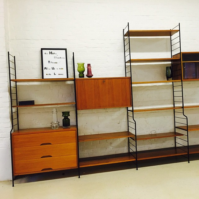Our WHB String Wall Unit At Leonards Home!