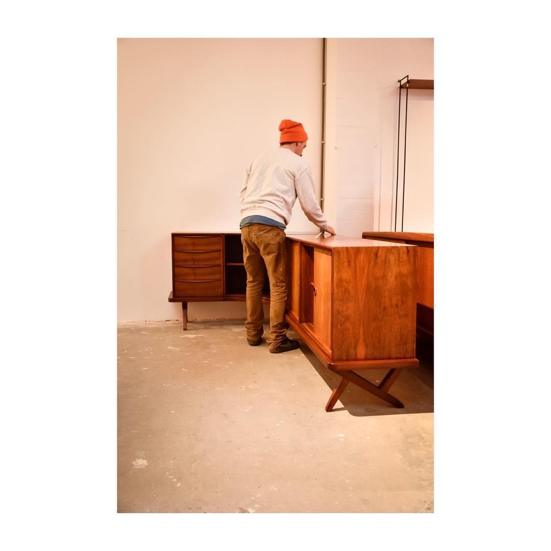 corner furniture piece. Willem + William Watting Sideboard With Corner, Rare Piece! Corner Furniture Piece