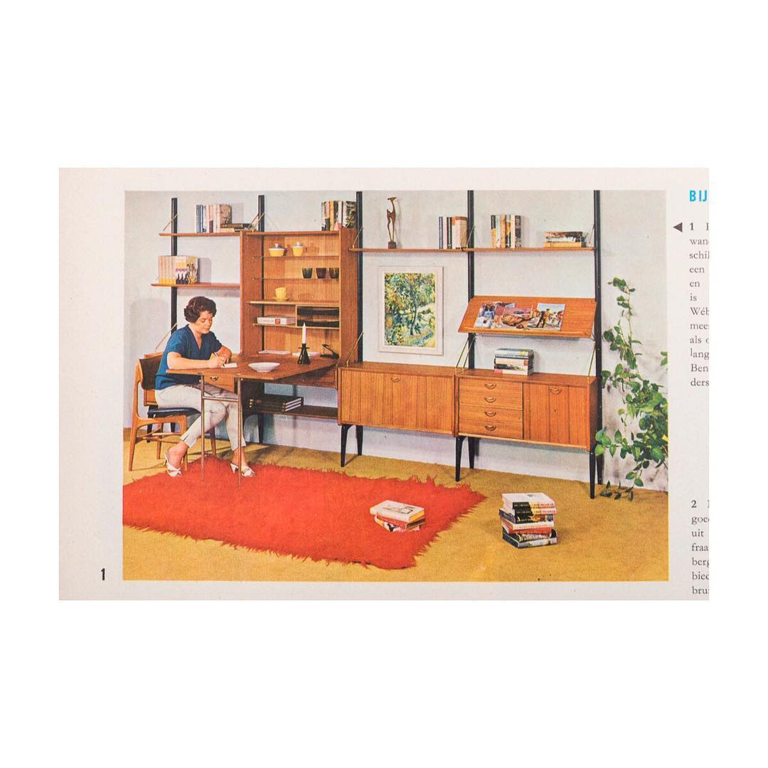 Hop in today and compose your own Louis van Teeffelen Wall unit. Open between 10am and 4pm ?